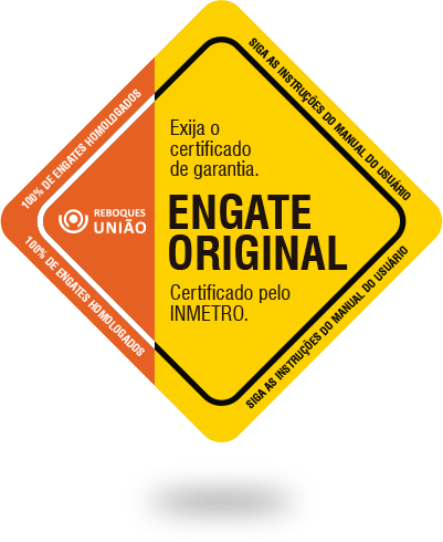 Selo de garantia de qualidade de produtos